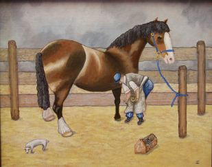 Shoeing - SOLD