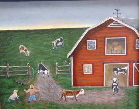 Milking Time - SOLD